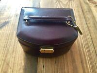 Leather Jewellery Box with key- £10 ono