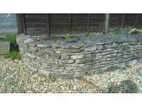 Dry stone walling free for collection