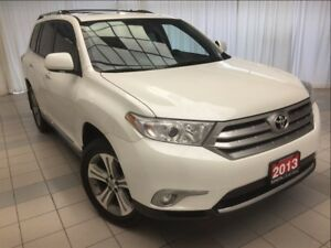 2013 Toyota Highlander Limited *Loaded*