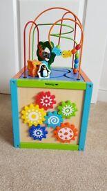 Childrens Activity Cube