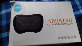 Shiarsu massage pillow