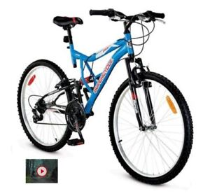 "Supercycle Vice 26"" Mountain Bike 18 Speed - NEW"