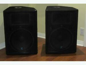 BRAND NEW WITH TAGS YX15P SPEAKERS **1200 OBO**