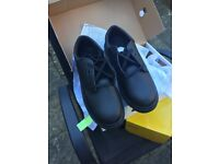 Brand New Leather Safety Shoes Size 10