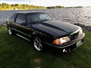 1988 Ford Mustang GT SHOW CAR RESTORED