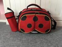 Changing bag red