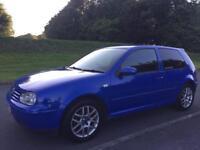 2002 VW GOLF GTI 2.0 MK4 VERY RARE *VGC* x2 keys GT tdi 130 150