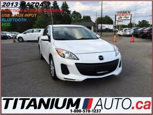 2013 Mazda MAZDA3 BlueTooth+Traction & Cruise Control+New Tires