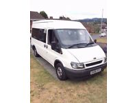 Ford Transit 12 Seater 300MWB With new 12 month MOT