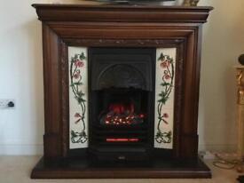 Standalone Electric Fireplace.
