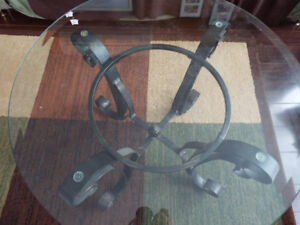 Glass end tables for sale