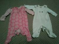 Girls newborn bodysuit outfits