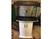 Fishxbox and tank for sale