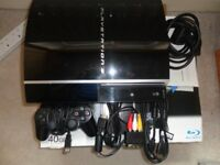 PS3 Console + 7 Games