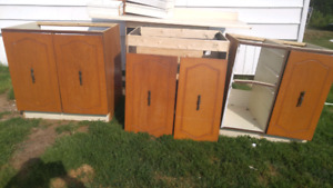 Cabinet forms and doors