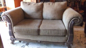 newer loveseat in exc cond no rips or tears, only couple yrs old