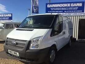 2013 63 FORD TRANSIT SWB T260 100 - FSH - 12 MONTHS MOT - SERVICED - NO VAT - WARRANTY