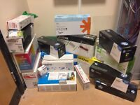 Varied selection of ink cartridges, approximately between 20-25 for sale