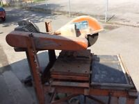 Clipper stone and metal cutting saw