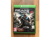 gears of war 4 , as new , xbox one ! price stands , no offers ! will post !