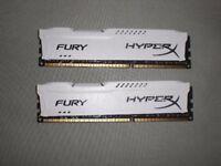 Fury HyperX 2x8GB 16GB DDR3