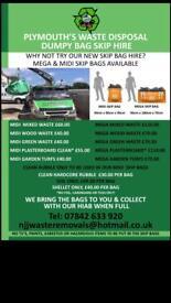 Plymouth waste disposal & skip bag hire