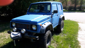 For sale 1986 suzuki samurai