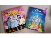 DISNEY THEATRE /CHARACTER BOOK PLAYSETS - £8 each, £15 for both