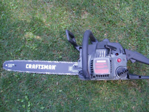 Craftsman chain saw