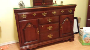 Lexington cherry credenza