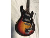 Satellite 1970s electric guitar (project)