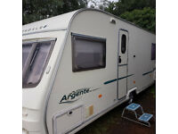2005 avondale argente 555 fixed bed p/x poss