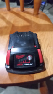 Milwaukee m18 red lithium battery