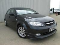 2008 (58) CHEVROLET LACETTI 1.8 SPORT BLACK LOW MILEAGE 29,000 MILES