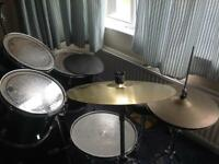 Olympic by Premier drum kit, used but is in a good condition. Great for beginners.