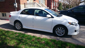 2010 Toyota Corolla Sport - ACCIDENT FREE/ONE OWNER