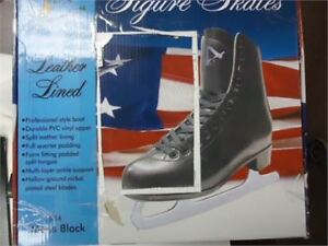mens figure skates size 10 brand new in box only 20