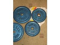 25 Kg Body Sculpture Weight Plates