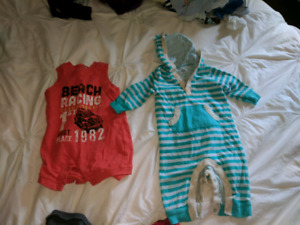 Newborn and 0-3 month boys clothing lot