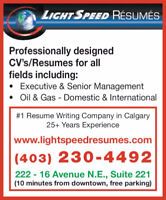Professional Resume Service
