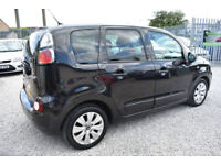 Citroen C3 Picasso 1.6HDi ( 92bhp ) VTR+5 DOOR+BLACK+BEAUTIFUL