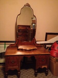 Antique dresser and Stool