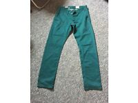 Men's Chinos in Sea Green (NEXT)
