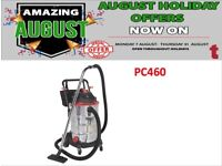 SEALEY PC460 INDUSTRIAL VACUUM CLEANER WET & DRY 60LTR 1600W / 230V CAR WASH CAVUUM