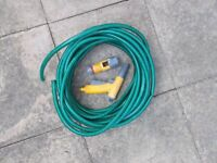 20 metre hose with attachments