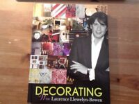 New Book Decorating with Laurence Llewelyn-Bowen. £5. Hackney, East London