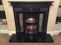 Fireplace, Gas fire and Hearth