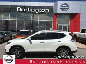 2015 Nissan Rogue SL, NAVi, ACCIDENT FREE !