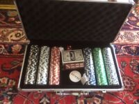Poker Chips Box/Set.