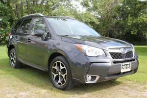 2015 Subaru Forester 2.0 XT Limited AWD *SUNROOF, NAV, LEATHER*